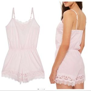 TOPSHOP Lydia lace teddy
